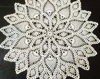 New crochet doilies