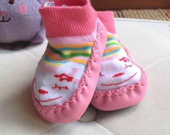 Baby Sock and Booties - 1 pair