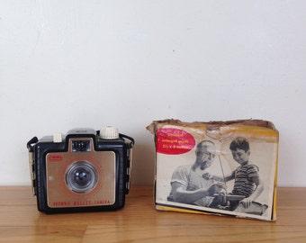 Vintage Brownie Bullet Camera by Kodak with original box