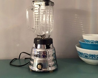 Vintage Kenmore Chrome Blender From Sears