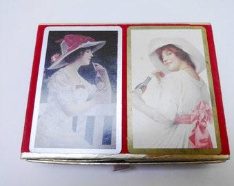 Vintage Playing Cards, Coca-Cola Memorabilia, Double Deck Cards, Congress Playing Cards, Bridge Deck, Colorful Playing Cards, Poker Cards