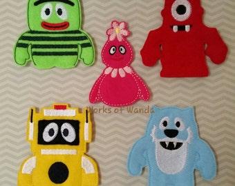 Monster Finger Puppet Set
