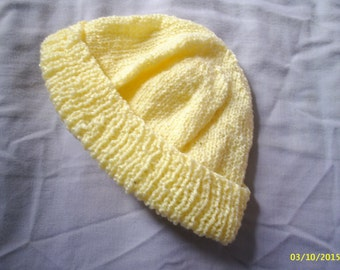 Cotton/acrylic Beanie hat