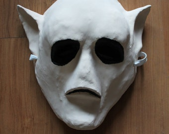 Elf Mask   Paper Mache   Costume