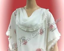 Rose Kaftan Designer Piece