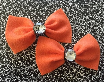 Halloween Bows (MADE TO ORDER)