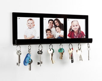 Acrylic Perspex Key Holder and Photo Frame | Premium acrylic | Made in the UK