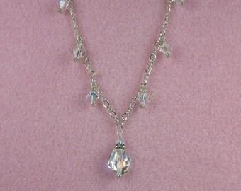 Crystal Drop Necklace - N11011