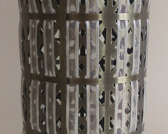 Bronze moroccan lamp light shade
