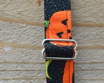 Halloween Jack-O-Lantern Dog Collar