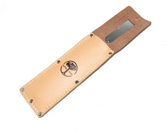 Garden Knife Sheath Made From Genuine OX Leather