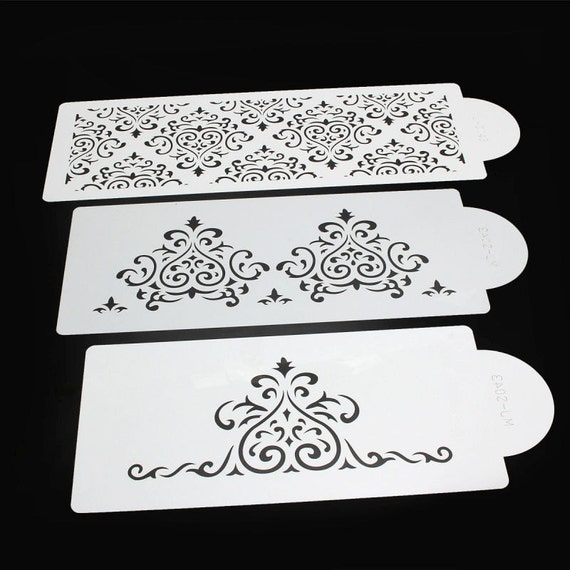 how to use royal icing stencils