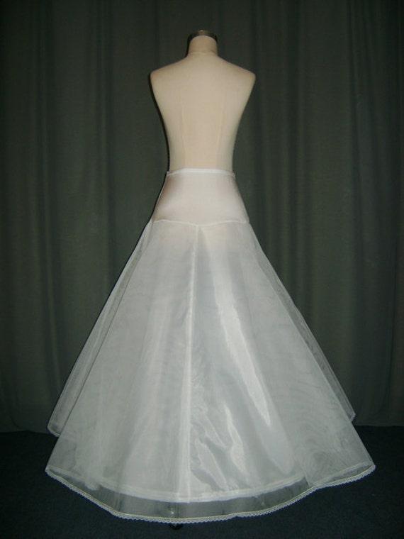 a line petticoat skirt slips hoop skirt crinoline