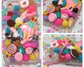 Candy Overload Decoden Phone/Device Case - Made To Order