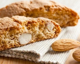 Almond,Anise, Biscotti-1 Pound Cookies-Soft Baked-Italian Cookies