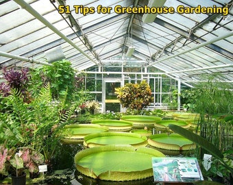 51 Tips for Greenhouse Gardening Ebook PDF Master Resale Rights