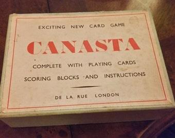 Vintage Canasta set