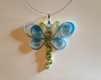 "Necklace ""Dragonfly"""