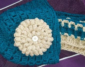 Winter Hat and infiniti Scarf Set