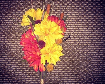 Fall Floral Bouquet