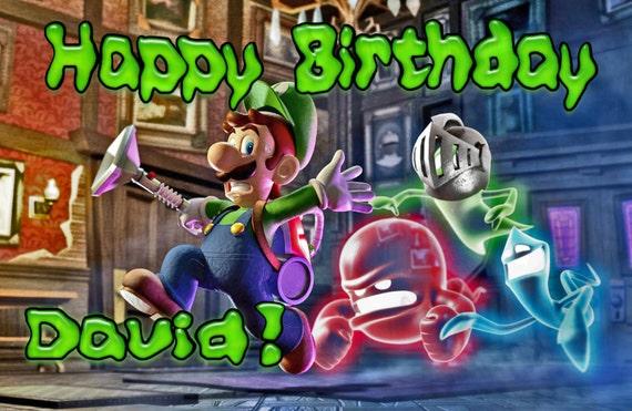 Luigis Mansion Cake