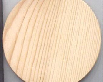 Wooden Basket Bottom Pine 6 inch round