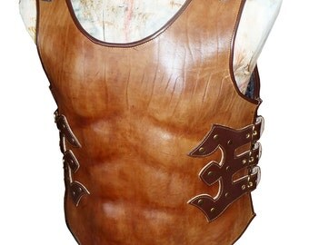 "Stylized armor vest ""Gladiator"""