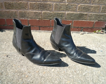 50's / 60's Winkle Picker Boots - Austin Powers Shoes