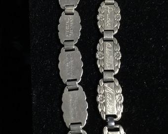 Sterling Silver Forget Me Not  Bracelets