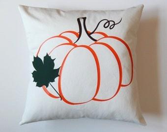Pumpkin Pillow Cover - Fall Pillow Cover - Harvest Pumpkin - Fall Decorations - Autumn Decorations - Autumn Pillow - Pumpkin Pillow Covers