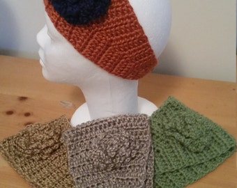 Women/Teen Crocheted Headbands and Ear Warmers