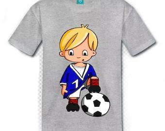t-shirt boy football