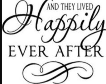 "2"" x 3"" Magnet ""Happily Ever After"" Wedding Decoration MAGNET"