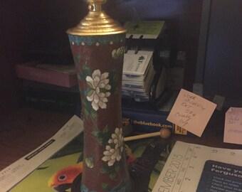 Cloisonné  Lamp,