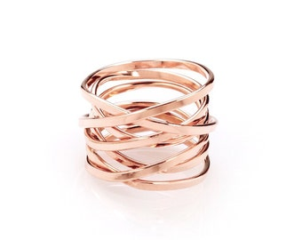 Bound - Rose Gold Ring