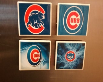 Chicago Cubs kitchen magnets