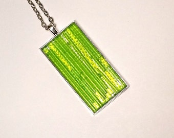 Green Reeds Necklace