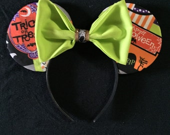 Trick or Treat Halloween Disney Ears