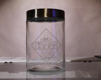 Halloween Witches Brew Jar