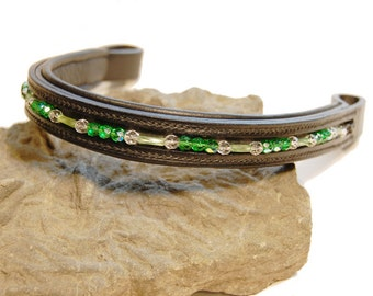 Hand Made Beaded Brow Band