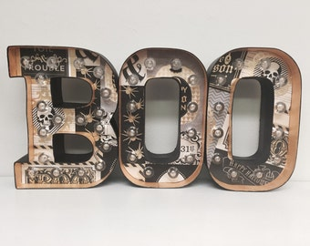 Marquee Letter Lights - BOO