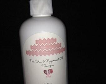 Tea Tree and Peppermint Shampoo - 8 oz.