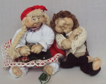 Handmade decorative dolls
