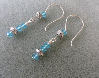 Swarovski Crystal and Silver Accent Earrings