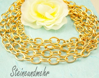 100cm chain big gold plated art. 2676