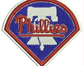 Phillies Embroidery Design