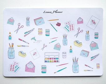 Planner Supplies (Matte planner stickers, perfect for planners)