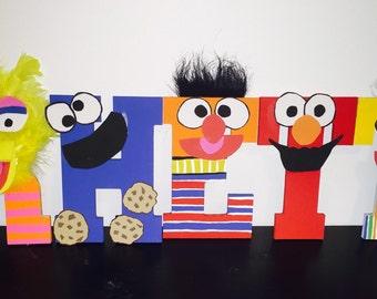 Sesame street letters