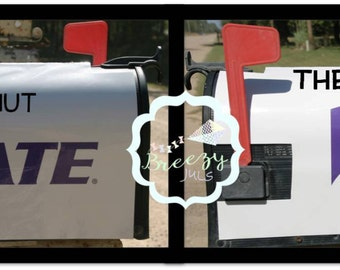 Personalized Kansas State University WIldcats Magnetic Mailbox Cover