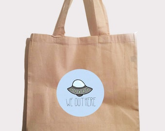 UFO tote bag we out here